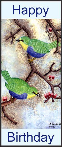 No. 8. Birds