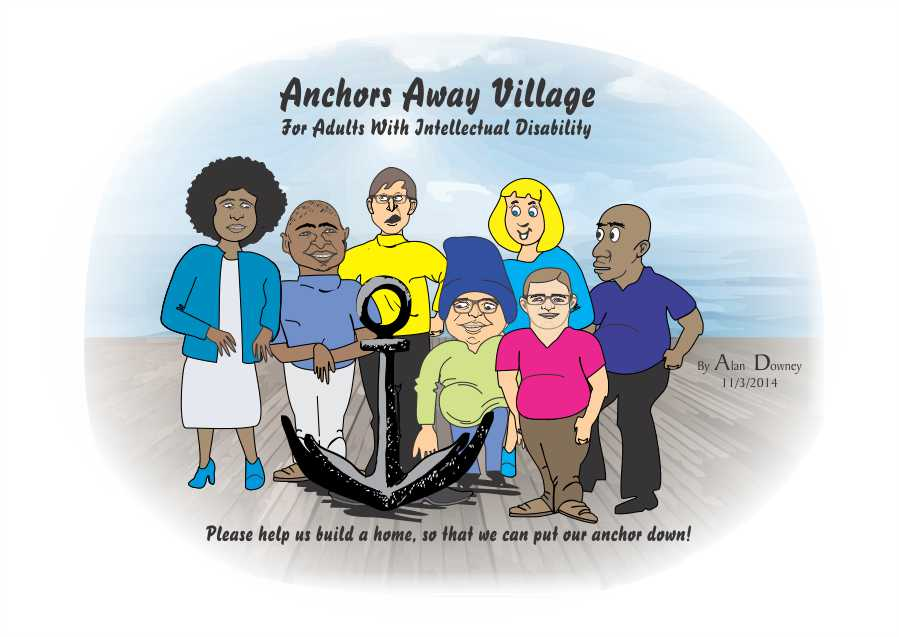 Caricature for Anchors Away Village
