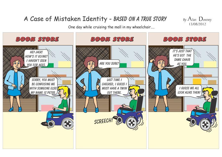 a case of mistaken identity english