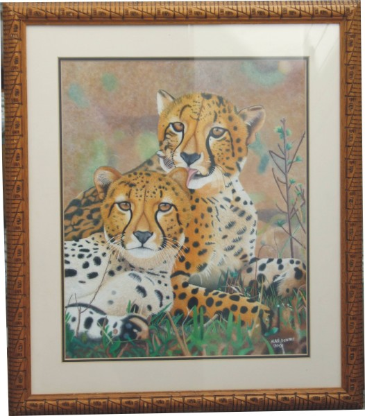 Cheetahs on African Plains