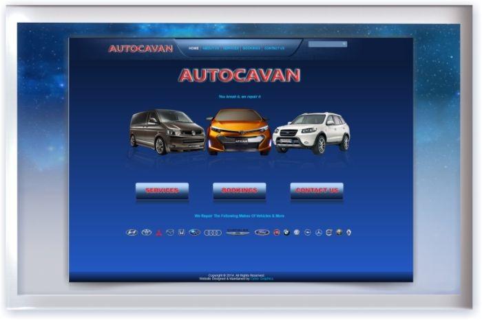 Autocavan Web Site